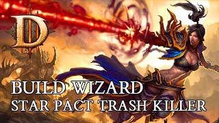 DIABLO 3 PL - BUILD WIZARD STAR PACT TRASH KILLER - SEZON 14