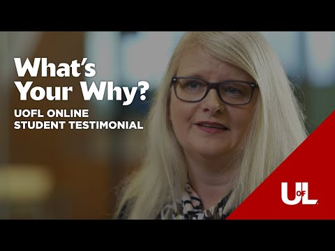 What's Your Why?: Pam's Story - Online Organizational Leadership Degree