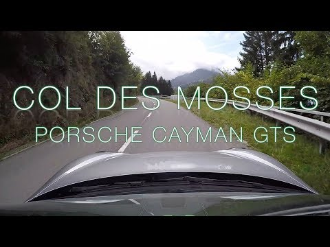 Col des Mosses - West Ascent - Porsche Cayman GTS