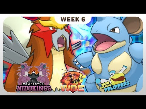 THE MADMAN DID IT - Newcastle Nidokings VS New Orleans Pelippers - Pokémon Sun & Moon [WBE S1W6]