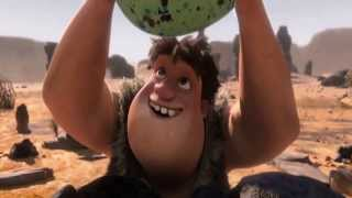 the croods 2013 hunting egg in HD