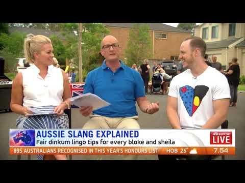 Bloke racks up 40 million views explaining Aussie slang