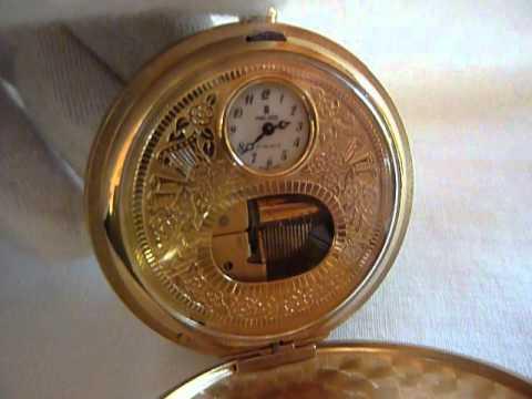 Reuge musical pocket watch 03