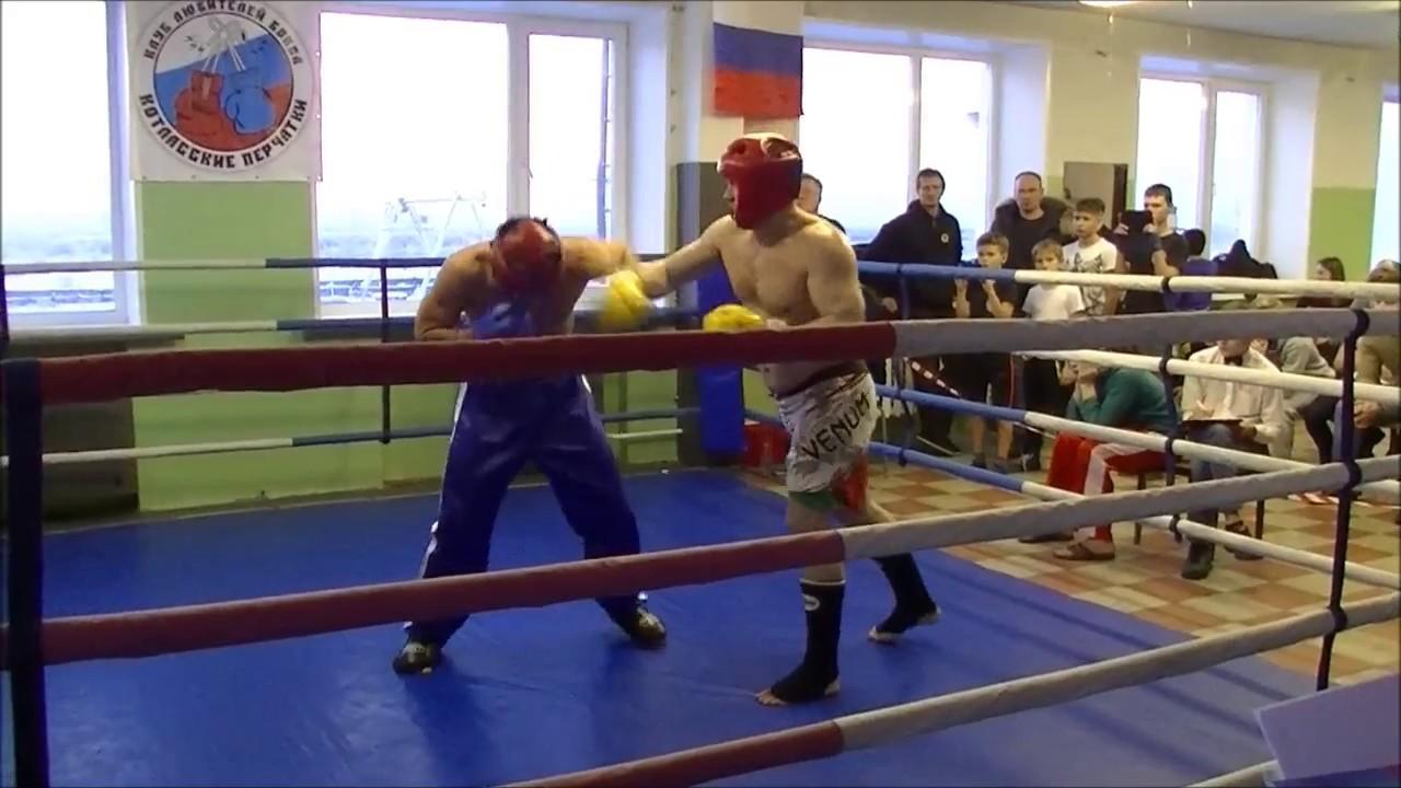 Кикбоксинг. Хороший бой супертяжей в финале. Фулл-контакт.