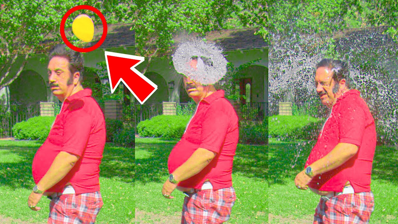 WATER BALLOON DRIVE BY PRANK! | HoomanTV