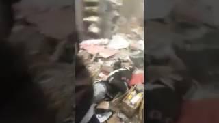 شاهد.. آثار تفجير منطقة السنك ببغداد