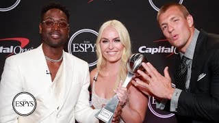 Dwyane Wade, Rob Gronkowski, Lindsey Vonn honored for historic careers | 2019 ESPYS