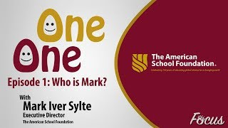One on One: Mark Iver Sylte - Episode 1