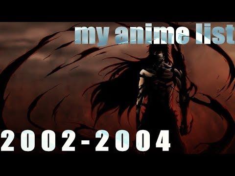 My List Anime 2003 2004