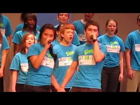 Sycamore High School choir concert 2012 zafar