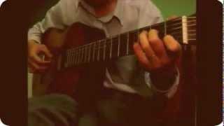 [Tab] Bước chân lẻ loi Solo Guitar