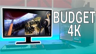 A 4k gaming monitor that you can actually afford! -- benq el2870u review