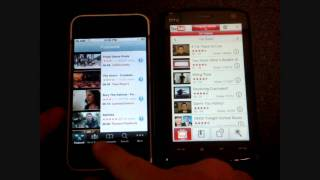 Repeat youtube video YouTube Comparison: Touch HD versus iPhone