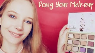 Makeup and Straightening Your Hair for ASMR