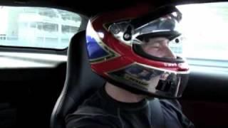 Mercedes-Benz SLS AMG taxi ride with Bernd Mayländer at the F1 Yas Marina Circuit