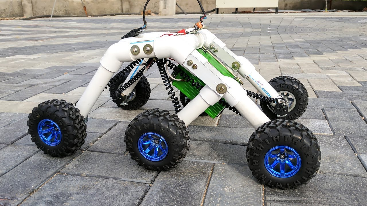 How to Make a Mars Rover / Roc...