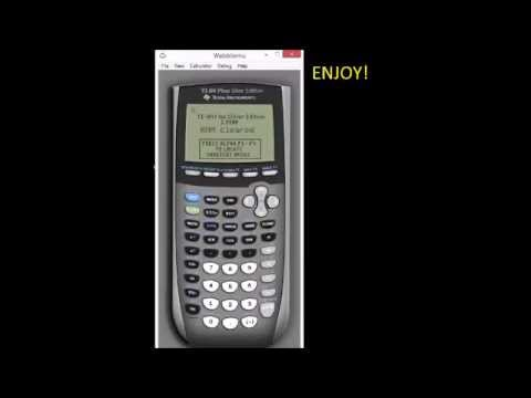 graphing calculator ti-84 download