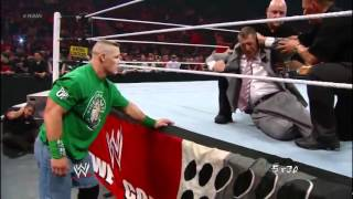wwe com exclusive mr mcmahon gets helped to the back after being knocked out by big show