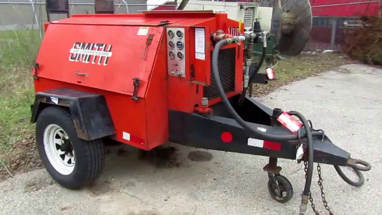 Smith, model 100, towable air compressor | For Sale
