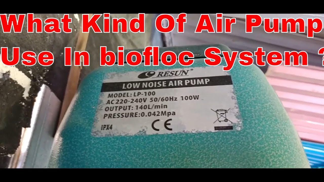 What Kind Of Air Pump Use In biofloc System ???