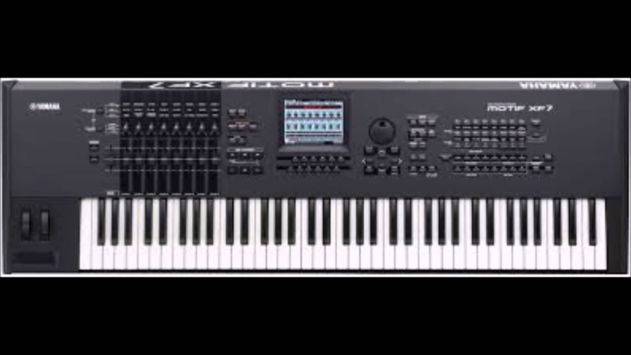 Yamaha Motif XF7- Pet Shop Boys - West End Girls