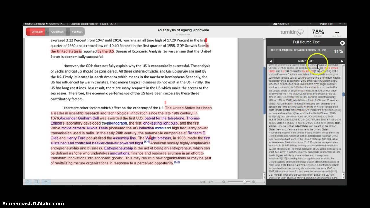 Using Turnitin at University of Bradford - YouTube   1280 x 720 jpeg 117kB