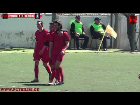 FC TBILISI 9-3 FC DIDUBE / OPEN LIGA 2017 /