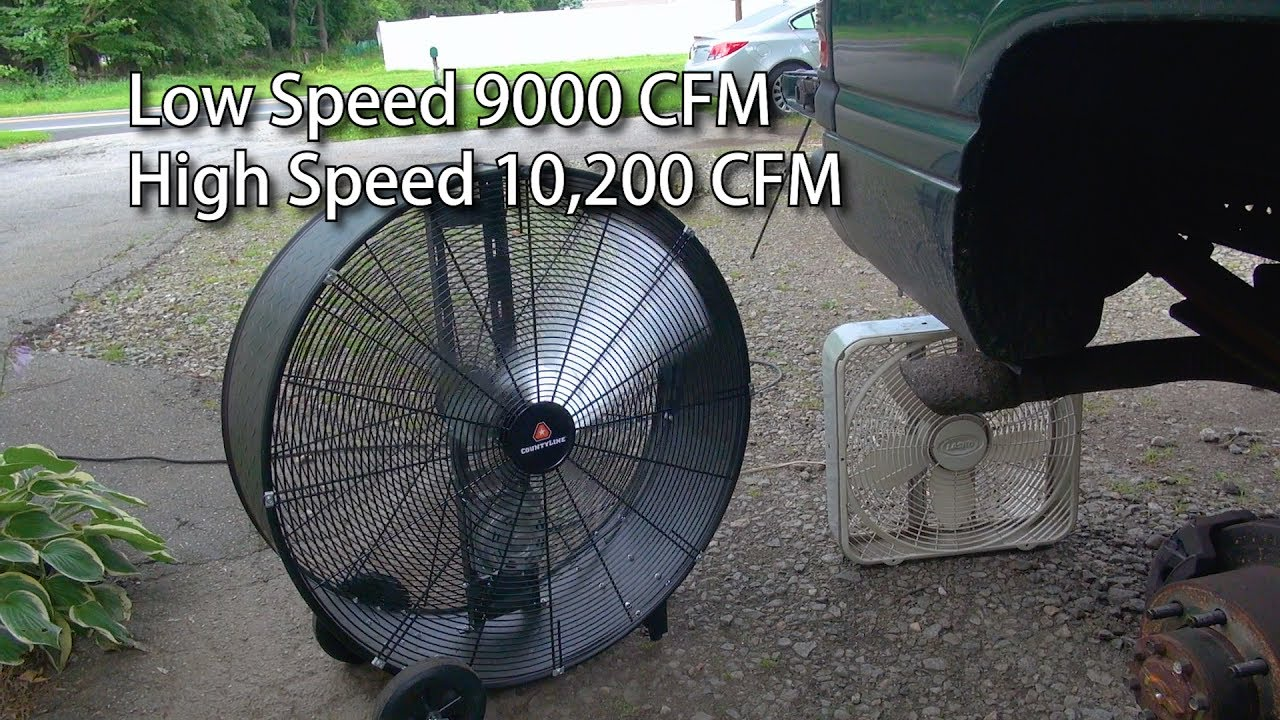 small resolution of county line tractor supply 36 inch barrel fan youtube condenser fan motor wiring maxxair barrel fan motor wiring diagram