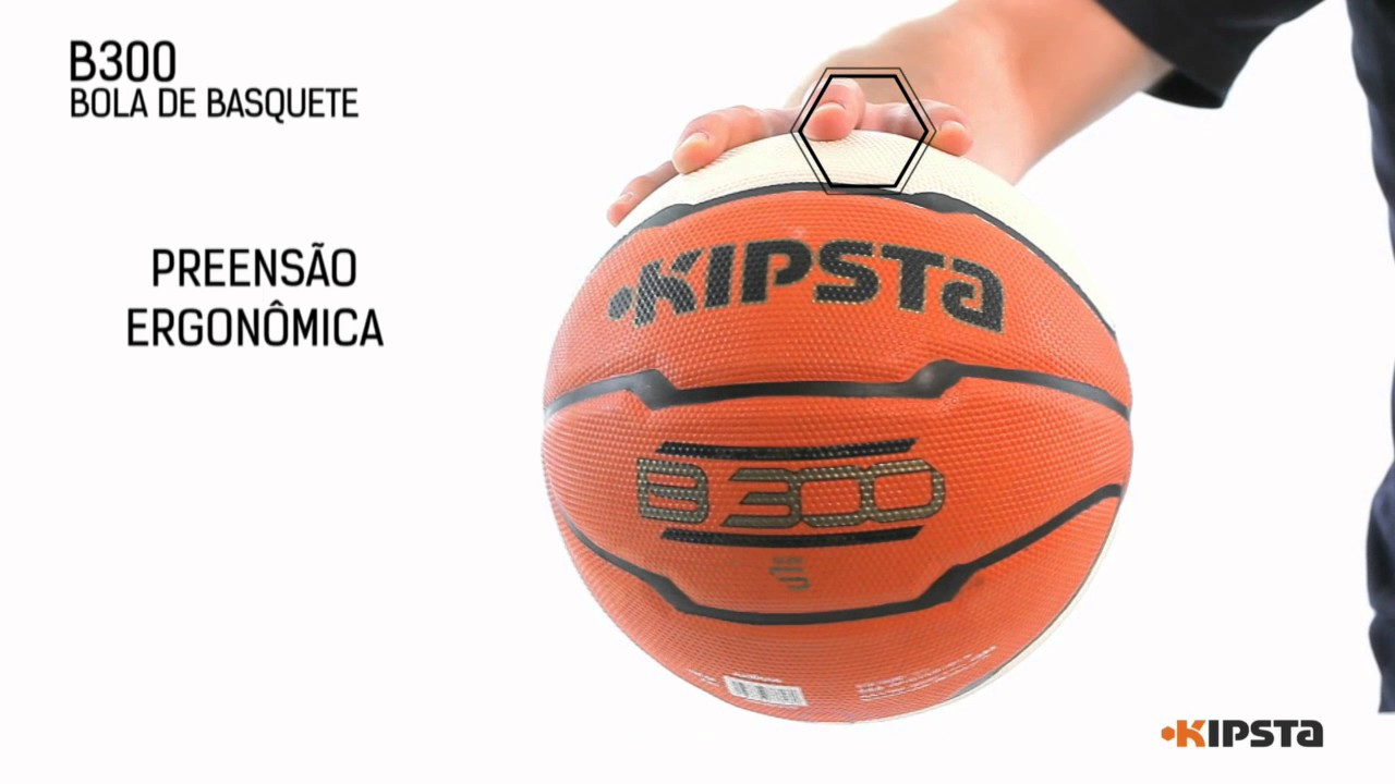 Bola de basquete b300 kipsta exclusividade decathlon youtube - Ballon basket decathlon ...