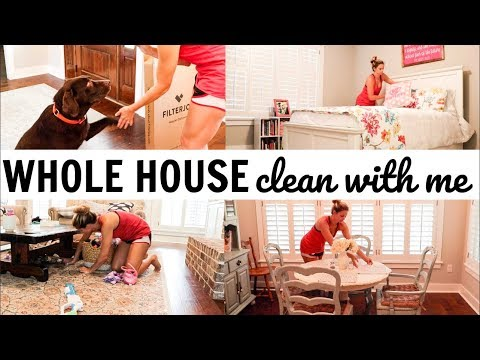 ULTIMATE WHOLE HOUSE CLEANING // ENTIRE HOUSE CLEAN WITH ME 2018 // EXTREME CLEANING MOTIVATION