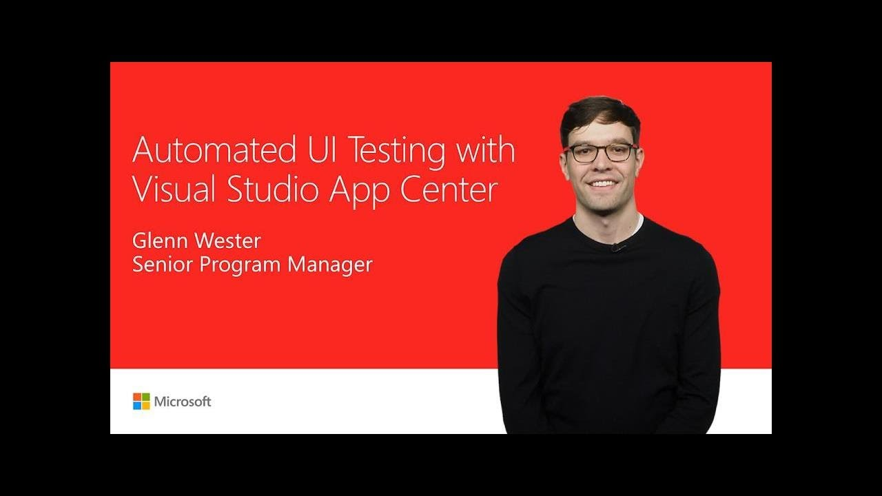 Automate app UI tests with Visual Studio App Center | T197