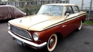 1962 Rambler American walk around