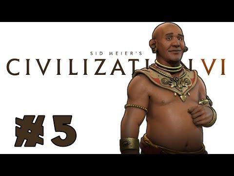 Let's Play: Civilization VI -- Deity Khmer! -- Part 5