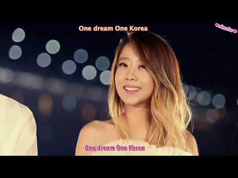 Sandeul, Wendy, Exid, Soyou, Ken, Baekhyun -  One Dream One Korea MV (Sub Español &English)