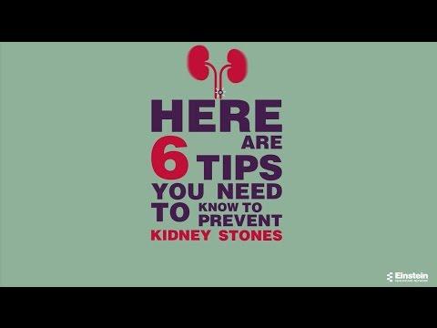 6 Tips to Prevent Kidney Stones