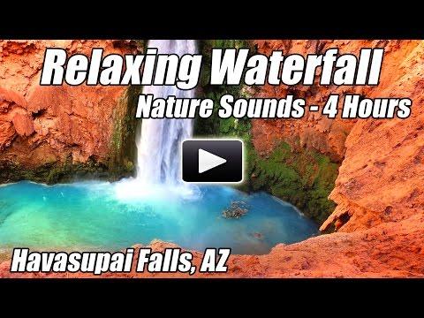 Havasupai Falls Relaxing Nature Sounds Waterfalls Water Relaxation Relax Sound of Water Havasu sleep