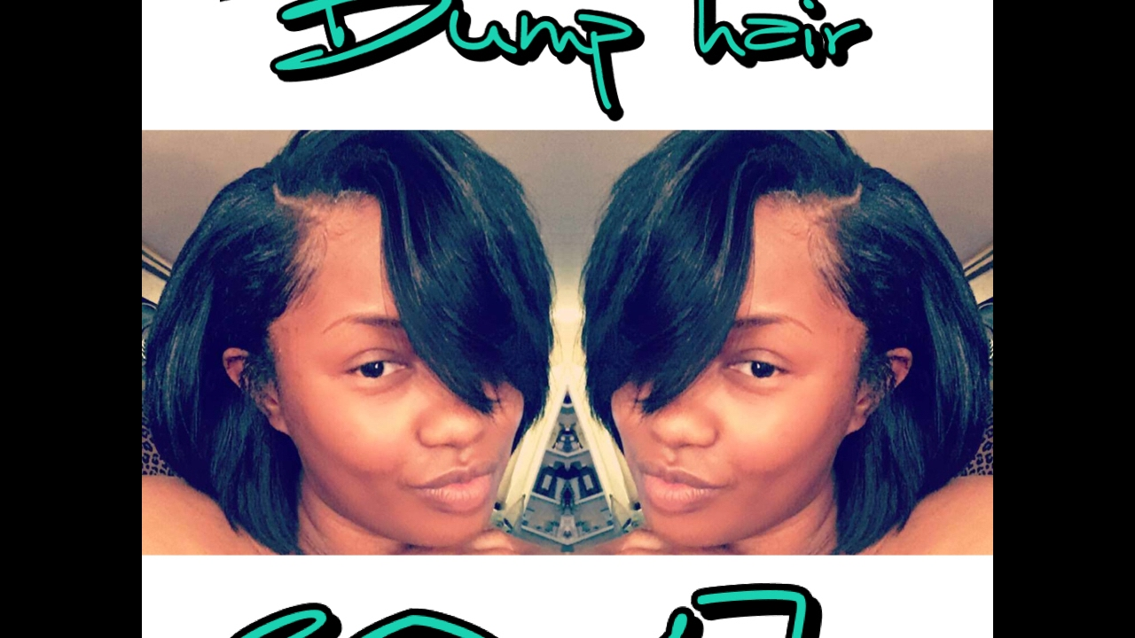 How To Wear Bump Hair In 2017 Updated Go To Quick Weave Youtube