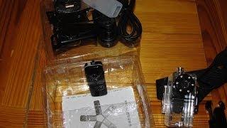 анбоксинг-обзор копии мини камеры MD80  подводный тест/Fake cam MD80 Unbox-Review  underwater test