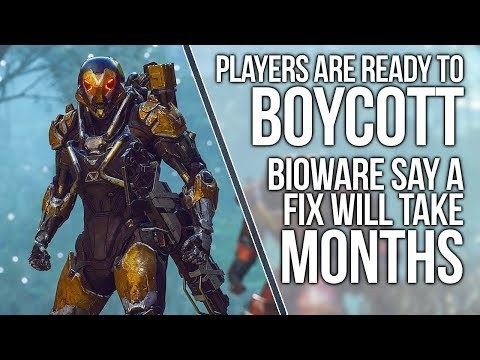 BIOWARE ADMITS ANTHEM WILL TAKE 'MONTHS' TO FIX & PLAYERS CALL FOR BOYCOTT