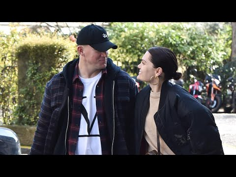 Channing Tatum and Jessie J Hold hands in London Mp3