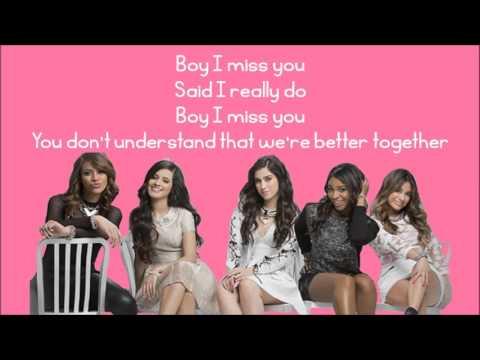 Fifth Harmony - Better Together (Lyrics)