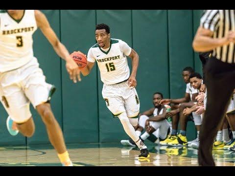 Clifton Lyerly Senior Season Highlights - Brockport Men's Basketball Class of 2017