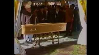 The Lying in State & Funeral Service of Aftab Ahmad Khan