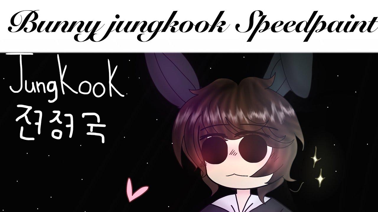 Chibi Bunny Jungkook Bts Speedpaint Youtube