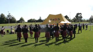 ILT City of Invercargill Highland Pipe Band G4B   Medley Nationals 2015