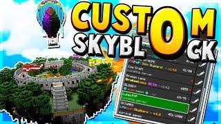 NEW Custom SkyBlock Server! 😱 - Minecraft PE (Pocket Edition)
