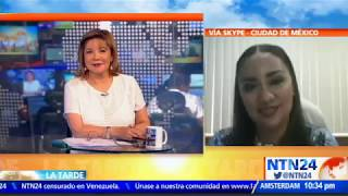 """""""En México están repitiendo las acciones que en su momento hizo Chávez en Venezuela"""": Sylvia Garfias"""