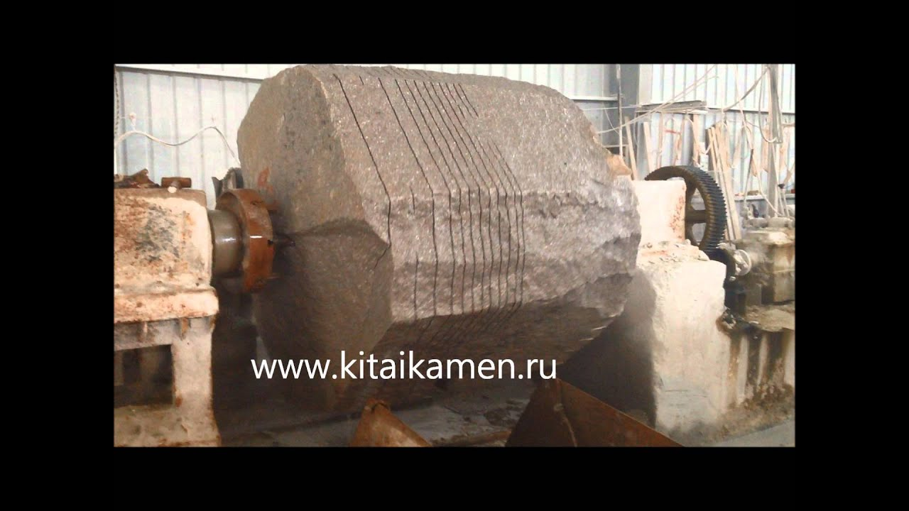Производство колонн на заводе в Китае