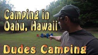 Peacock Flats Campground iฑ Oahu, Hawaii