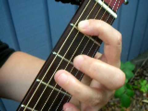 How To Play Funky Town On Guitar Youtube